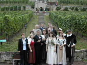 Empfang der Gebietsweinkönigin  im Herzoglichen Weinberg