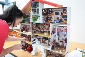 Erlebnishaus der Kita Zwergenland zweiter Platz dieser Altersgruppe 300x200 Kinder  und Schüler  Wettbewerb endete mit hoher Beteiligung