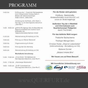 Flyer EF Back 300x300 1. Querfurter Weinbergfest in Zusammenarbeit mit dem Geo Naturpark Saale Unstrut Triasland