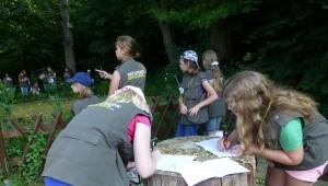 Grundschule Teuchern Uferbeobachtung 300x170 Abschlußfahrt ins Naturparkgebiet