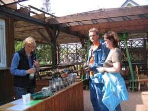 Weinausschank im Herzoglichen Weinberg in Freyburg (Unstrut)