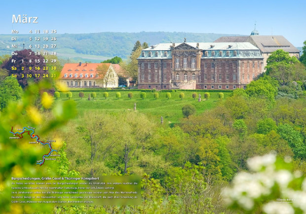 März 620x435 Naturparkkalender 2019   Entlang des Feengrotten Kyffhäuser Weges