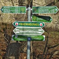 Wanderwegeschild