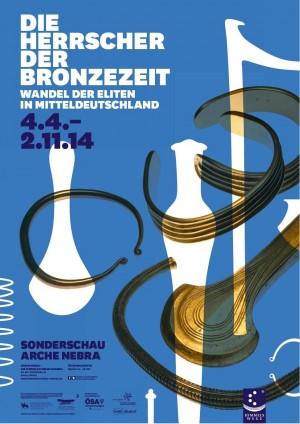 Sonderschau 2014 300x424 Sonderausstellung Arche Nebra   Die Herrscher der Bronzezeit
