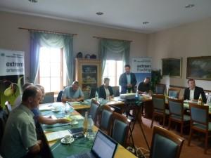Tagung 300x225 Zusammenkunft der Arbeitsgruppe der Naturparke Sachsen Anhalts
