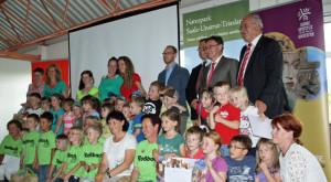 Teilnehmer Kindergarten 300x165 Kinder  und Schüler  Wettbewerb endete mit hoher Beteiligung