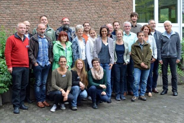 Teilnehmer des 1. bundesweiten Workshops zur Umsetzung von Natura 2000 in Naturparken 02 620x414 NATURA 2000 in Naturparken