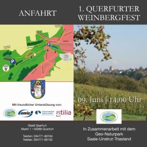 flyer ef front 300x300 1. Querfurter Weinbergfest in Zusammenarbeit mit dem Geo Naturpark Saale Unstrut Triasland