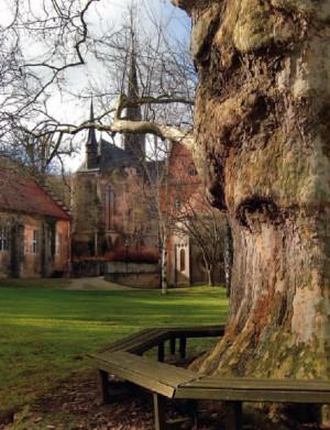 klostergelände welterbewandertag 300x391 3. Welterbewandertag