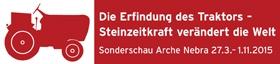 logo sonderausstellung Pflügen mit dem Rind