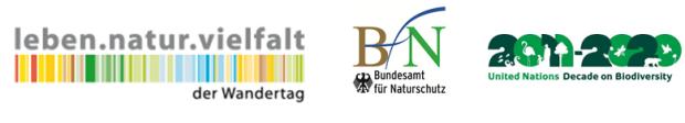 wandertag bfn logos 620x112 Gemeinsam wandern – Vielfalt der Natur erleben!
