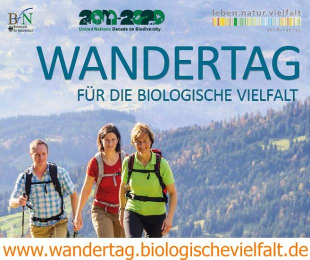 wandertag biologische vielfalt 620x519 Gemeinsam wandern – Vielfalt der Natur erleben!