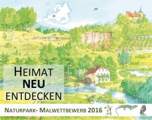 Naturpark MALWettbewerb 2016 Heimat NEU entdecken