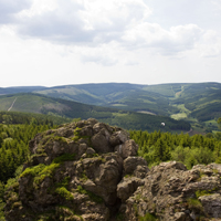Fantastischer Blick von den Bruchhauser Steinen (Foto: Sauerland Tourismus/Tanja Evers)