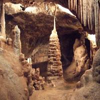 Die Kaiserhalle in der Dechenhöhle/Foto: Märkischer Kreis Tourismus