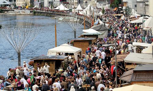 Altena Mittelalterfest 05.   07. August 2016: Altena   Eine Stadt erlebt das Mittelalter
