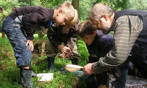Bachwanderung Innenteil 21.04.2017 Was lebt im Bach?   Naturerlebnis für Kinder und Jugendliche