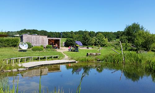 Besichtigung im Flex Umweltbildungsarbeit im Naturpark