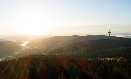 Ebbe innen 05. September: Waldlandschaften im Ebbegebirge