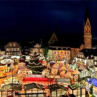 Der historische Weihnachtsmarkt in Olpe (Foto: Olpe Aktiv e.V.)