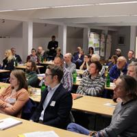 Die Veranstaltung zur Regionalvermarktung am 01.Dezember 2016 im Tagungszentrum Haus Nordhelle war gut besucht. (Foto: NPSR)