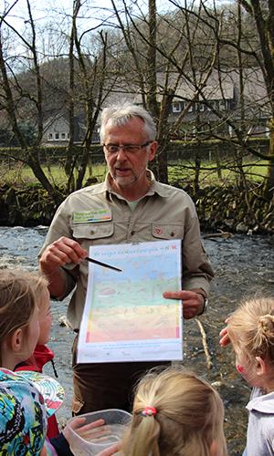 Foto Innenteil Bach Feuer und Wasser – das Naturpark Infozentrum in Lennestadt & Kirchhundem