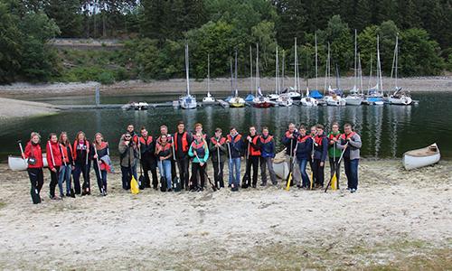 Foto Innenteil Camp Naturpark Jugendcamp am Sorpesee