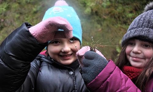 Foto Innenteil Eistropfen Schulen und Kitas auf Entdeckungsreise in der winterlichen Natur