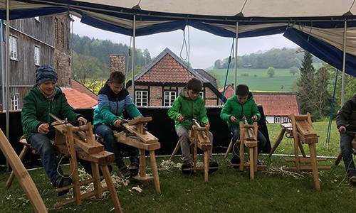 Foto Innenteil Grünholz Schüsseln, Armreifen und Spielzeug aus Holz selber machen