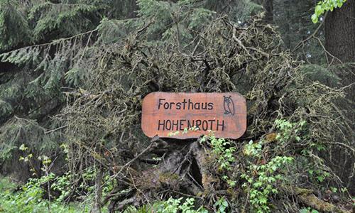 Foto Innenteil Hohenroth 24.02.2018 Eintopfwanderung rund um das Forsthaus Hohenroth