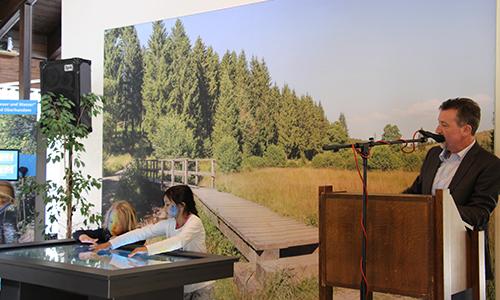 Foto Innenteil NIZ Feuer und Wasser – das Naturpark Infozentrum in Lennestadt & Kirchhundem