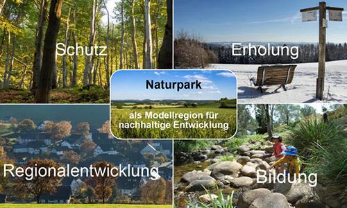 Foto Innenteil Säulen Die Aufgaben eines Naturparks
