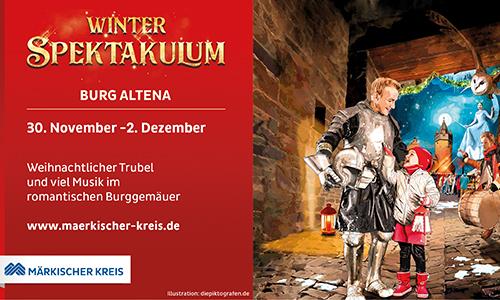 Foto Innenteil altena1 30. November bis 02. Dezember Winter Spektakulum