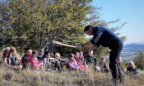 Foto Innenteil bergheide2 Schüler der Naturparkschule Hallenberg erforschen die Heide