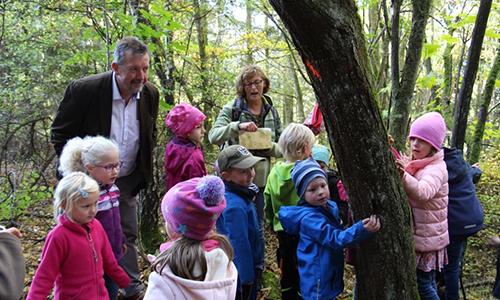"Foto Innenteil kita1 Familienzentrum Blauland darf sich nun offiziell ""Naturpark Kita"" nennen"