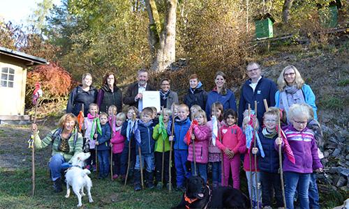 "Foto Innenteil kita2 Familienzentrum Blauland darf sich nun offiziell ""Naturpark Kita"" nennen"