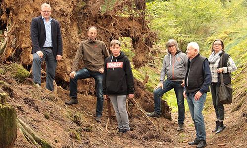 Foto Innenteil schlüse2 Schlüsenlehrpfad in Drolshagen  wieder eröffnet