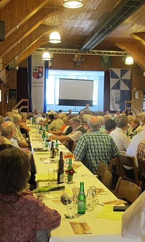 Heimatverein Wenholthausen Vortrag für die Mitglieder des Sauerländer Heimatbundes