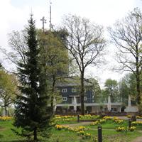 Der Aussichtsturm Hohe Bracht: auf dem 588 m gleichnamigen hohen Berg im Südsauerländer Bergland (Bilsteiner Land) gelegen (Foto: Naturpark Sauerland Rothaargebirge e.V.)