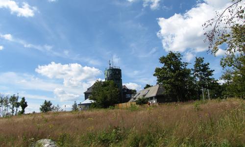 Kahler Asten Innen 16. August: Tief hinab und hoch hinauf