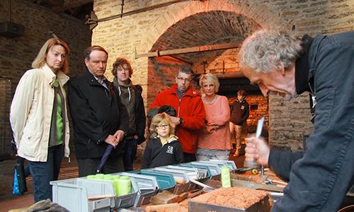 Luisenhütte Saisoneröffnung3 08.05.2016: Saisoneröffnung der Luisenhütte mit ihrem Museum für Vor  und Frühgeschichte