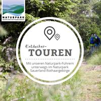 Booklet Naturparkführungen (Foto: Naturpark Sauerland Rothaargebirge e.V.)