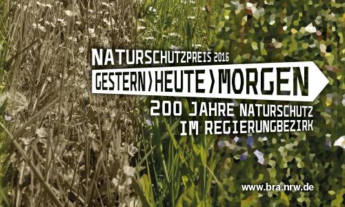 Naturschutzpreis Innen Von der Vergangenheit in die Zukunft   Naturschutzpreis der Bezirksregierung Arnsberg