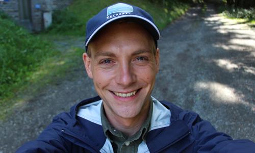Nils neu innen Praktikum beim Naturpark?!
