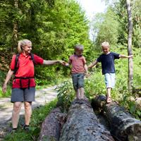WaldZeit-Draußen die Natur erleben (Foto: Sauerland-Tourismus e.V./ Tanja Evers)