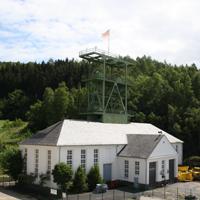 Blick auf das Naturpark-Juwel Silicea-Schacht bei Meggen (Foto: Stadt Lennestadt)