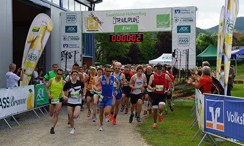Start Trailrun 12.06.2016: Sauerland Höhenflug Trailrun