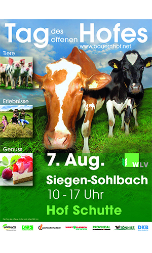 Tag des Hofes 07. August 2016: Tag des offenen Hofes auf Hof Schutte in Siegen Sohlbach