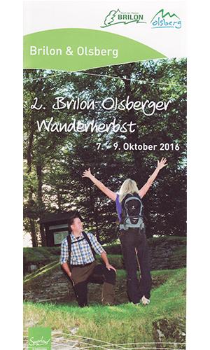 Wanderherbst 07. 09. Oktober: 2. Brilon Olsberger Wanderherbst