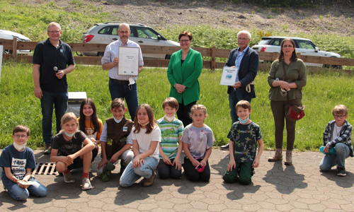 Zertifizierung Neuenrade innen Verdiente Auszeichnungen in der Umweltbildung